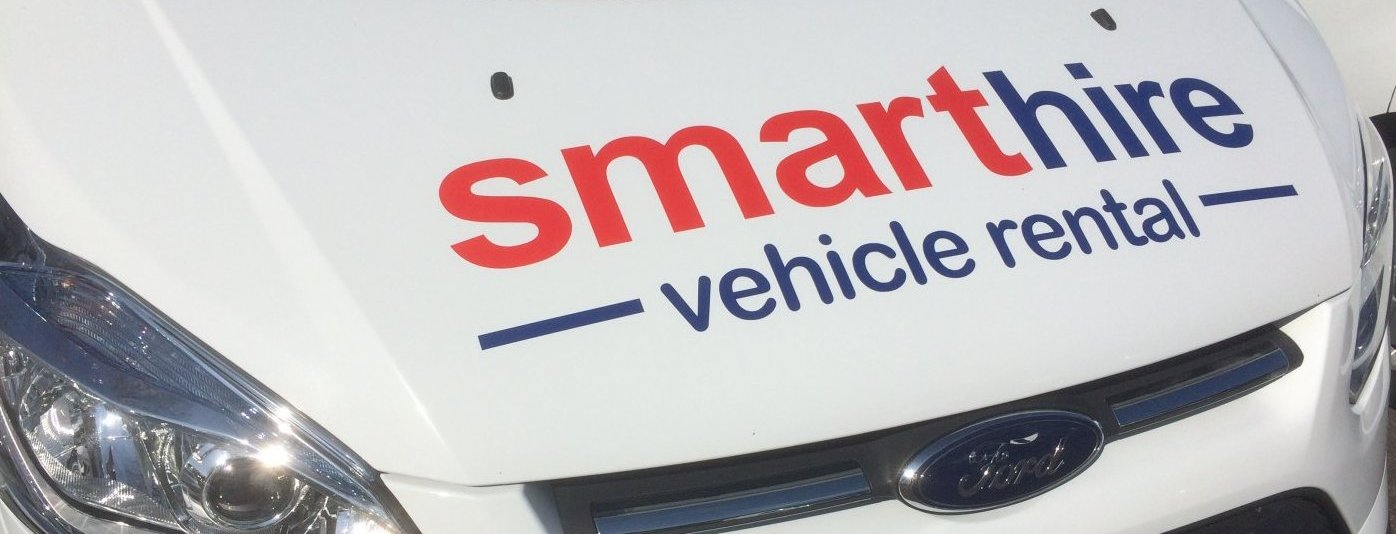 Smarthire Logo on Bonnet